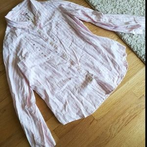 Victoria's Secret Pink Striped Pajamas NWT
